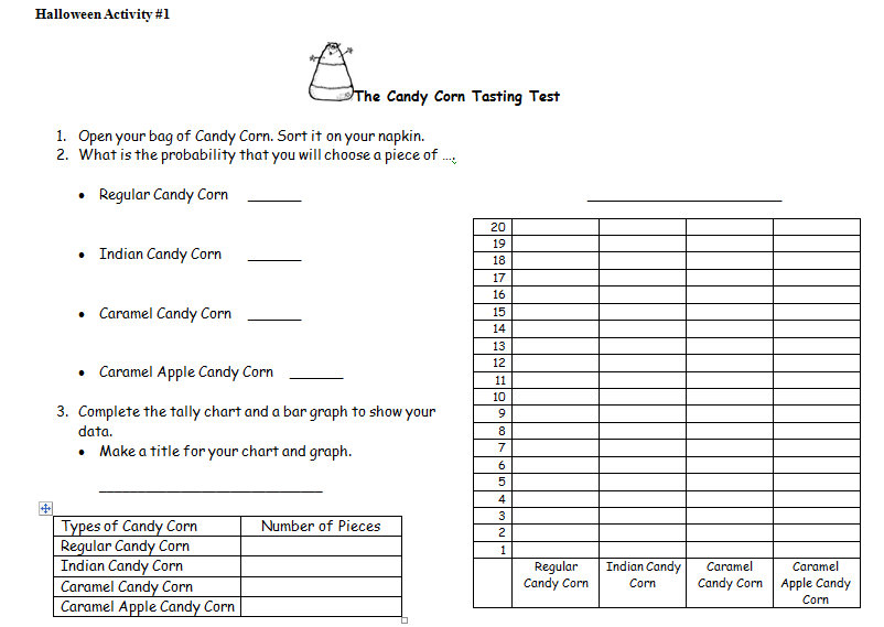 Halloween Math Worksheets and Activities – Math Game Worksheets