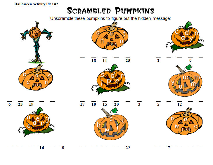 Halloween Math Worksheets Activities – October Math Worksheets