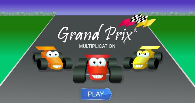 Grand-Prix-Multiplication-Third-Grade