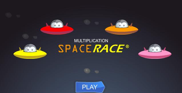 Space-Race-Multiplication-Grade-3