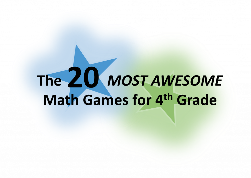 The 20 Most Awesome Math Games For Fourth Grade Math Game Time