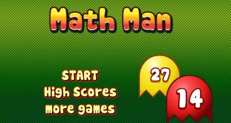 Math Pac Man – Math Game Time